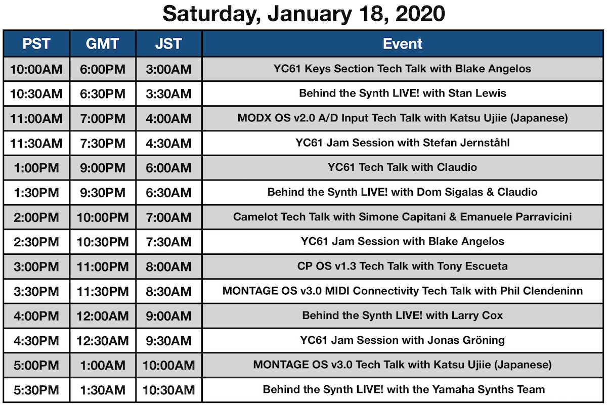 NAMM2020SATURDAY
