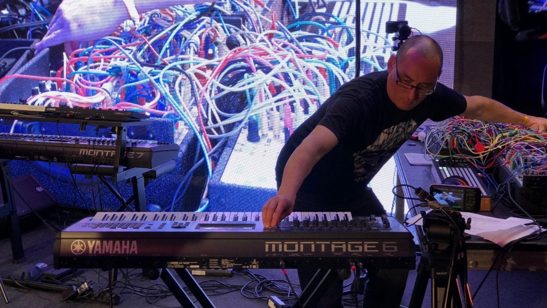 Behind the Synth: Interview with Richard Devine @ Superbooth
