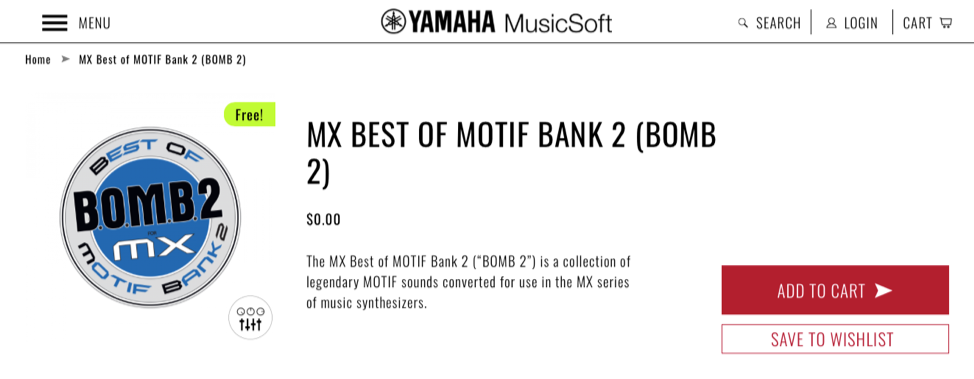 Label from BOMB2 for MX.