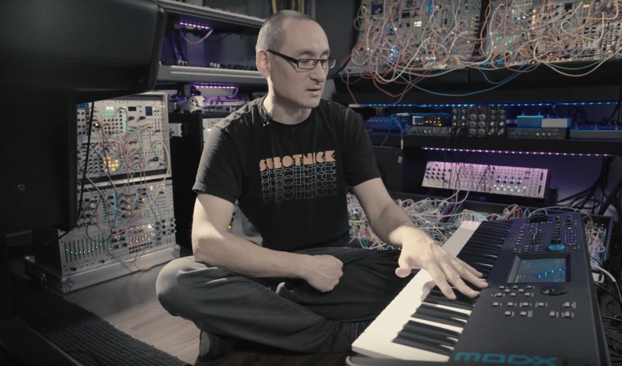 Spotlight on Richard Devine: The Synthesist/Sound Designer and MODX6