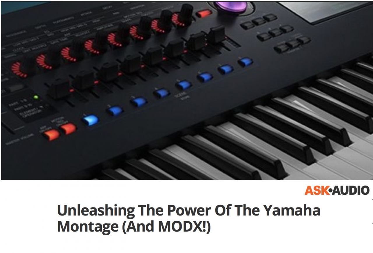 Ask.Audio: Unleashing the Power of MONTAGE (and MODX!)