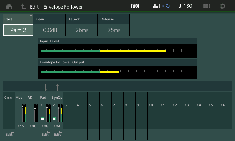 Mastering MODX: The Envelope Follower
