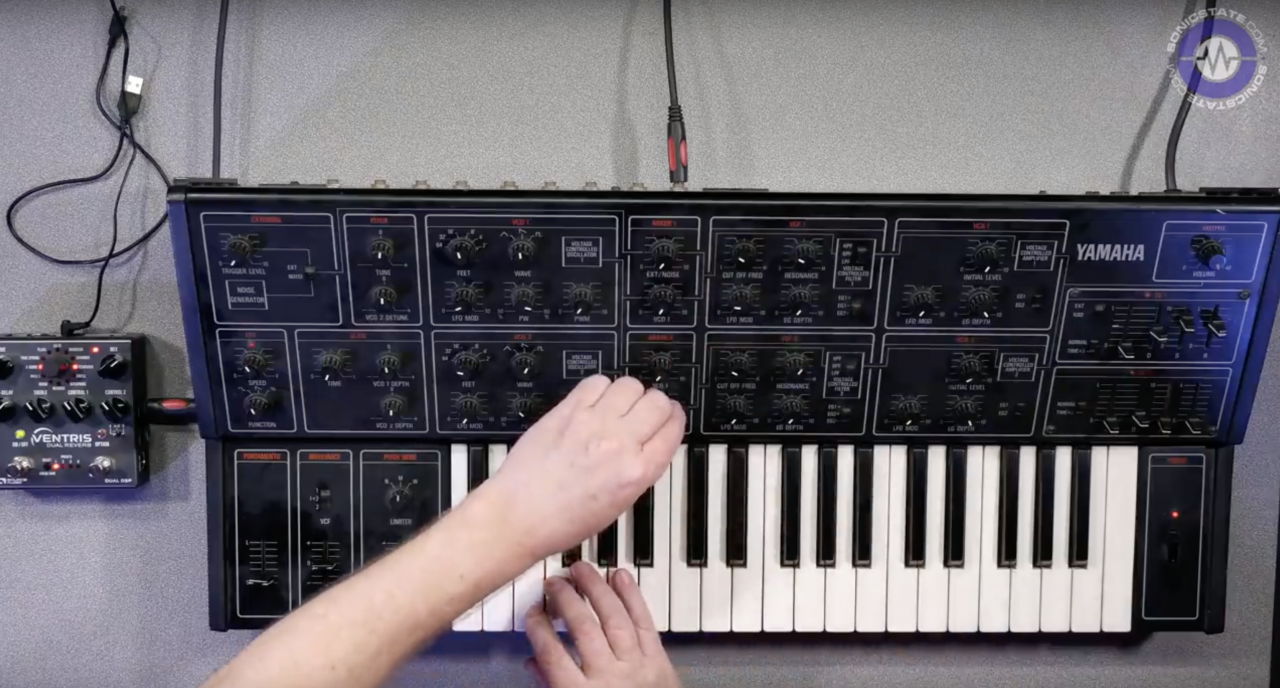 Synthbits: Yamaha CS15 + Ventris Dual Verb