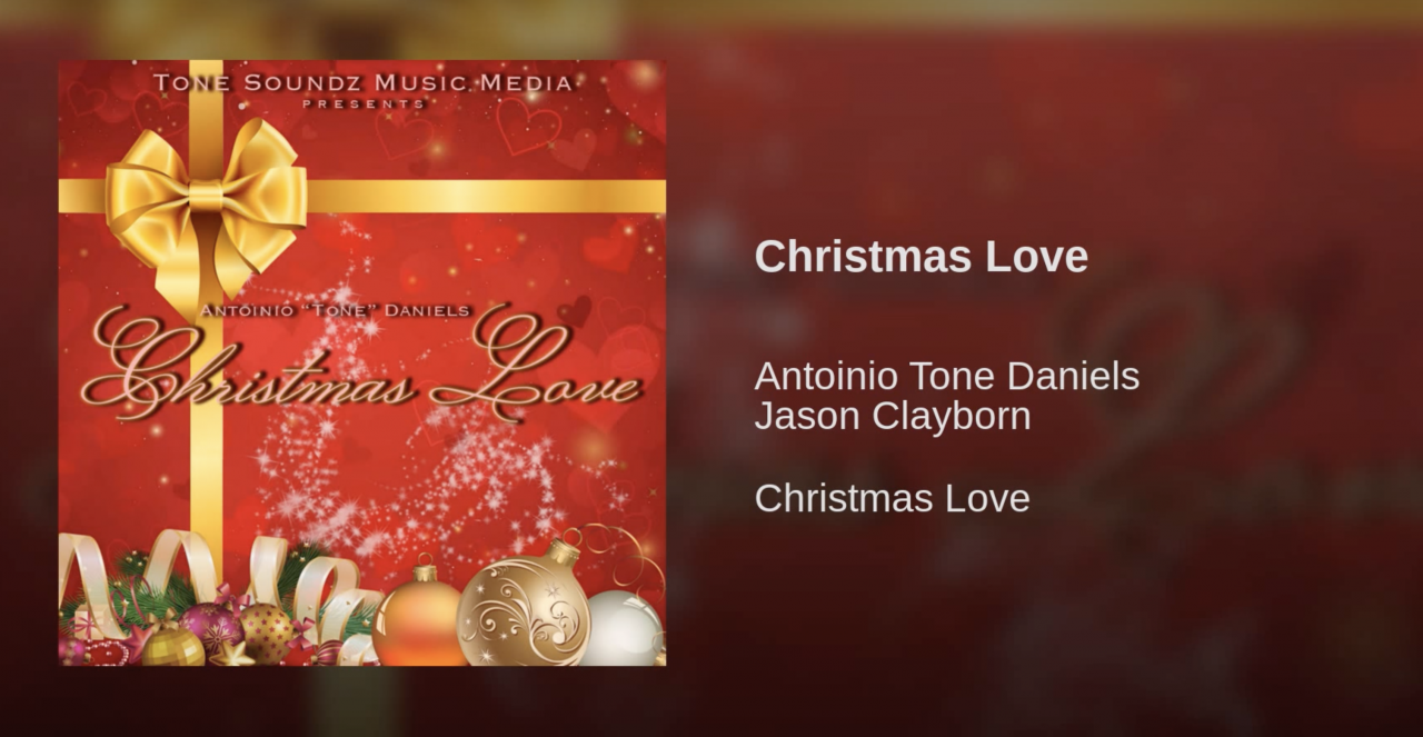 "Yamaha Synthesizer Artist Antoinio ""Tone"" Daniels ""Christmas Love"" Album Available Now!"