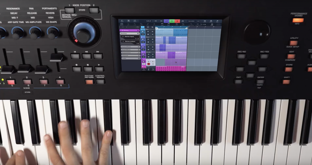 Mastering MODX: MIDI and Audio Recording with Cubasis