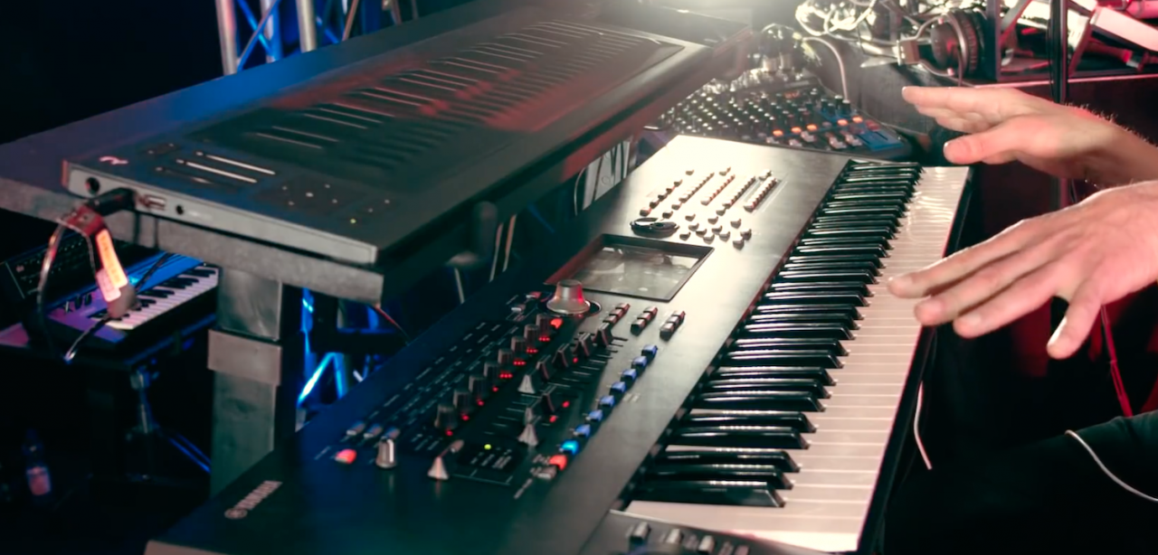 Superbooth 2019: Hans-Peter Henkel with MONTAGE, Seaboard Rise 49 and Camelot Pro
