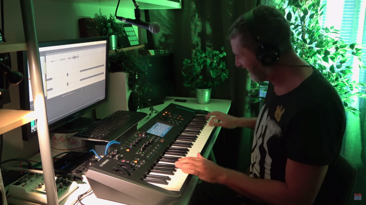 SynthBits: Woody Piano Shack and the John Melas MODX Editor