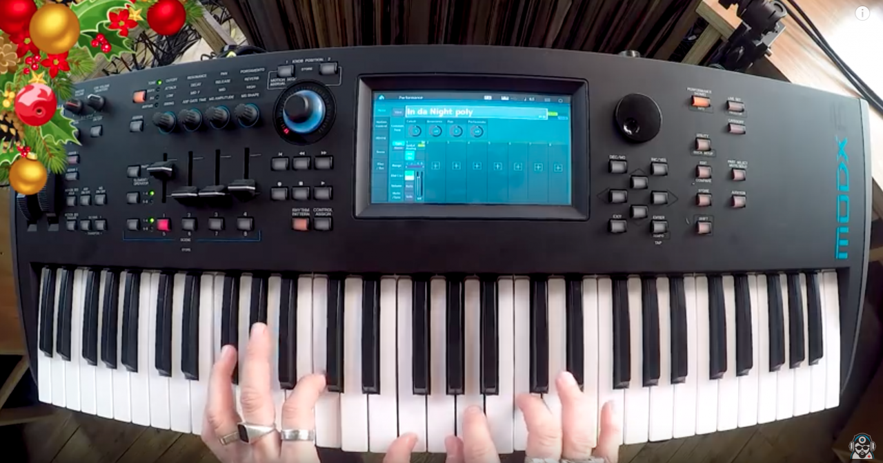 SynthBits: Hark! The MODX Does Sing!