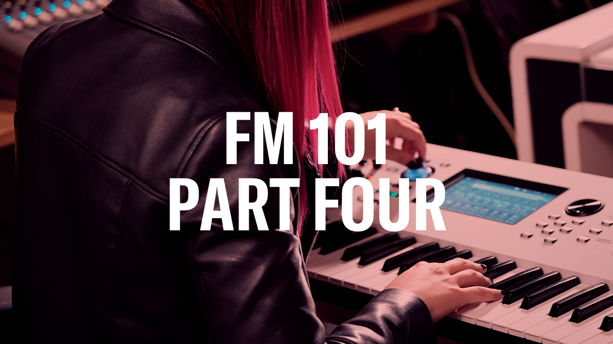 FM 101, Part Four: Going from Static to Dynamic