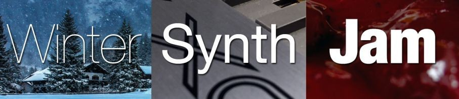 "Live Webcast from the ""Winter Synth Jam"""