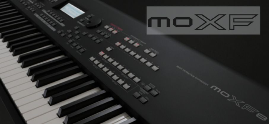 Loading the Motif XF Inspiration In a Flash Library to the MOXF6/MOXF8