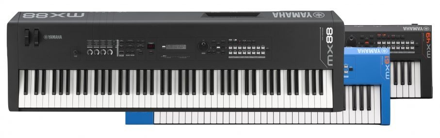 Get Started with the Yamaha MX49/61 BK/BU/WH and MX88