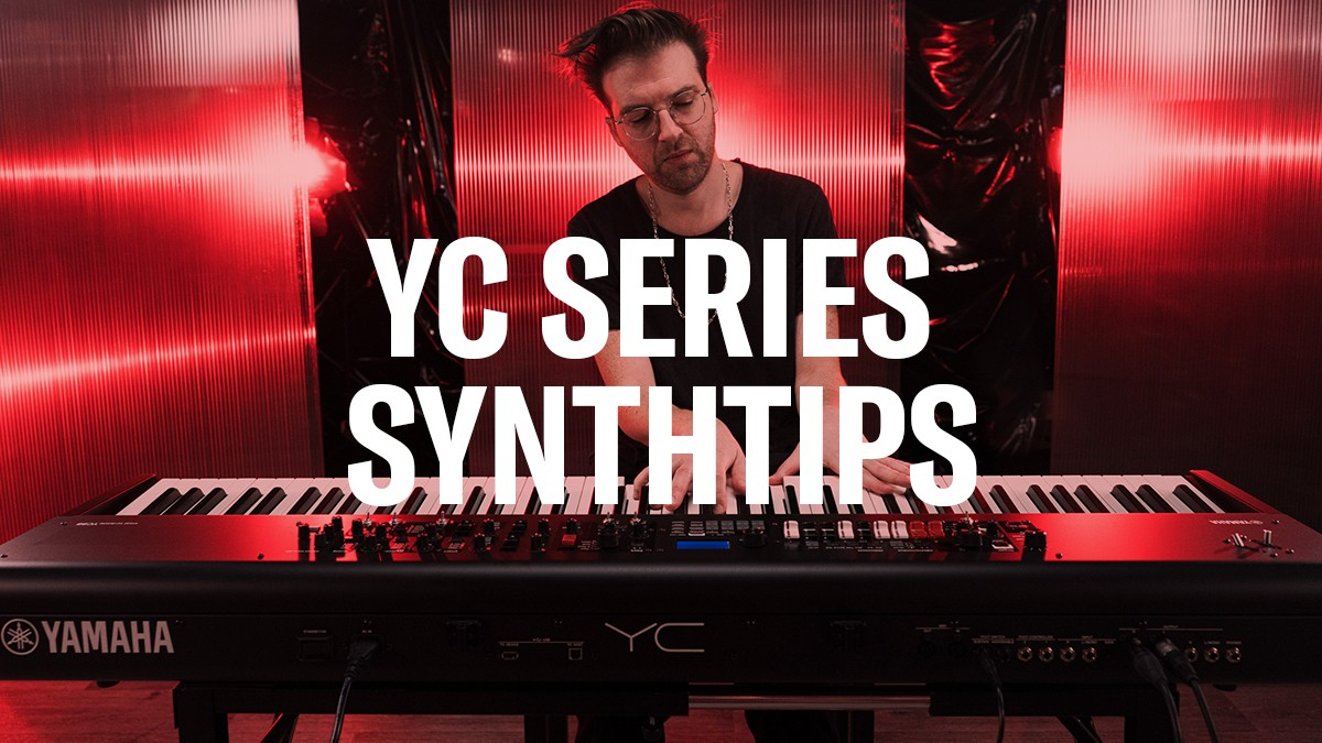 YC SynthTips: Adjusting Rotary Speaker Background Noise