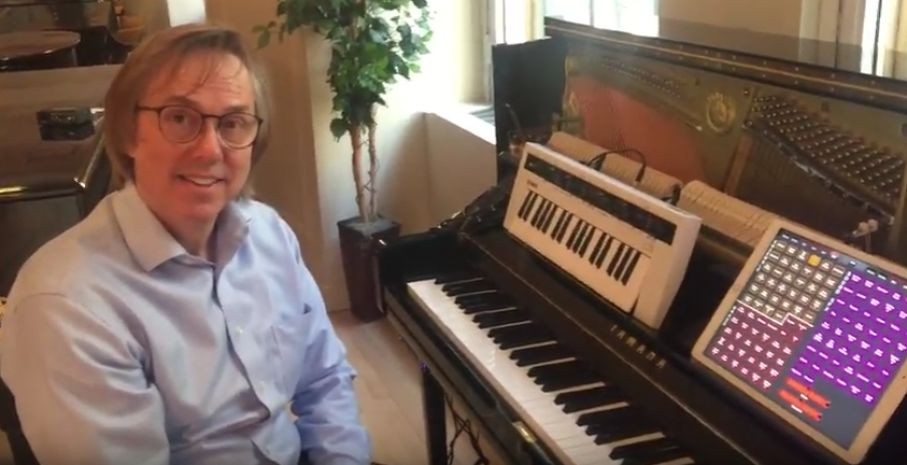 Synthbits: Finding New Voices with Reface CS, the U1TA Transacoustic Piano and MIDI Designer for iOS