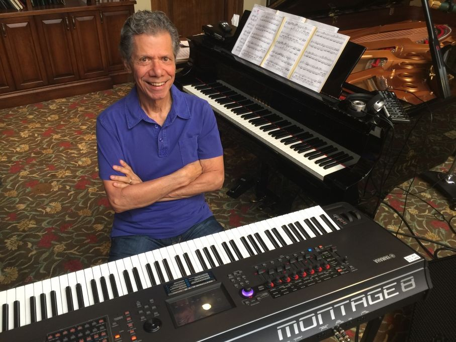 Chick Corea's Mark V for MONTAGE - A Sample and Performance Library