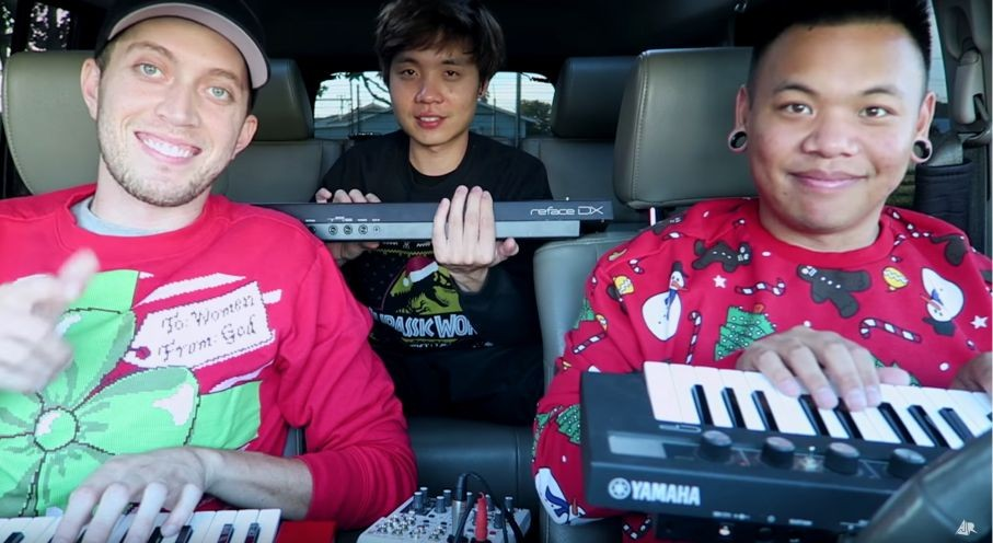 SynthBits: A Very Yamahasynth Christmas from AJ Rafael, TJ Brown & Albert Chang