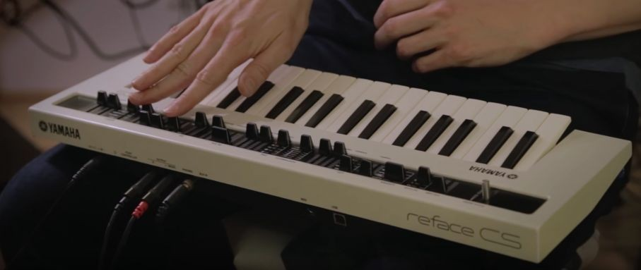 Synthbits: Fooling around on the reface CS