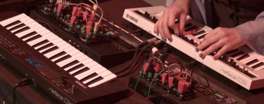 Synthbits - Soundmit 2017: Moira Muñoz Performance